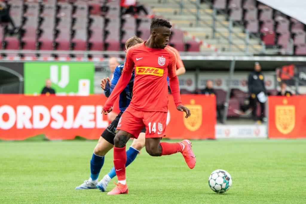 Ghana newboy Kamaldeen Sulemana hits brace in FC Nordsjælland trouncing of Lyngby BK