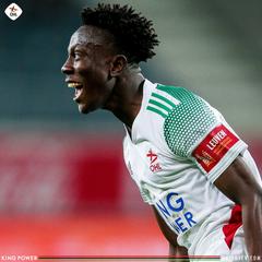 Ghanaian midfielder Kamal Sowah hopes for Leicester chance