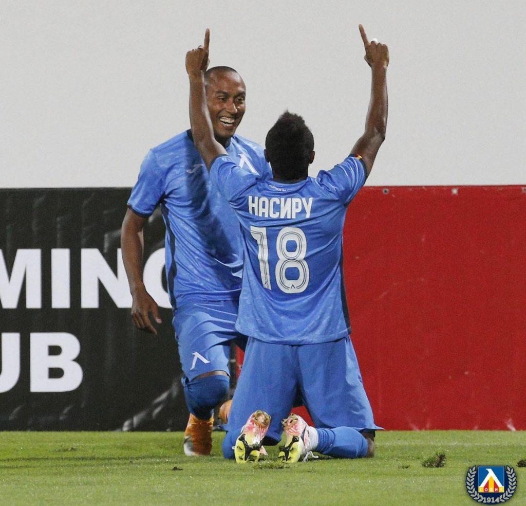 VIDEO: Levski Sofia striker Nasiru Mohammed scores his first league goal of the season