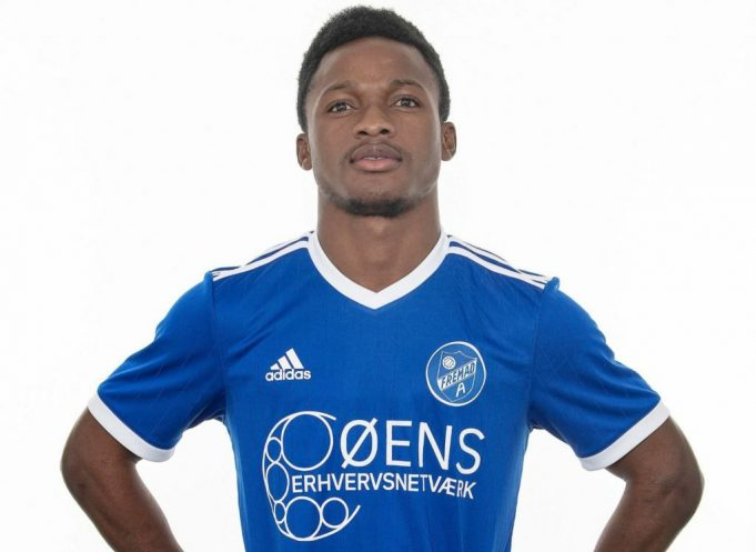 VIDEO: Emmanuel Toku's second goal of the season as Fremad Amager beat Hvidovre 4-0