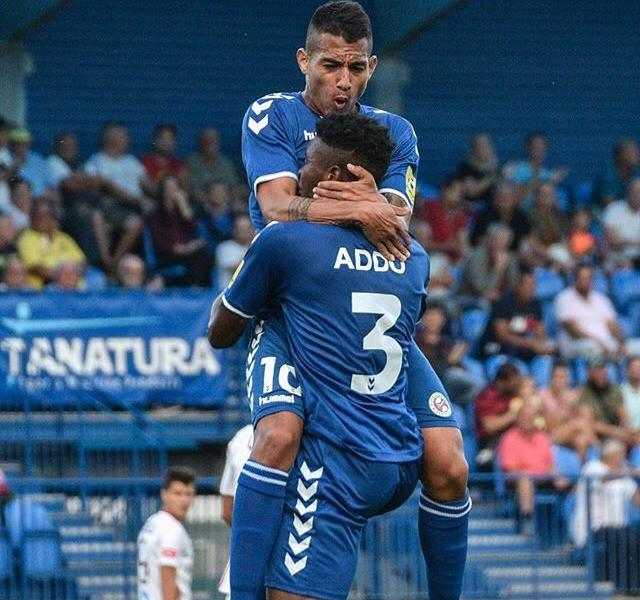 Edmund Addo scores as FK Senica thrash Kalinkovo 7-0 in the Slovak Cup