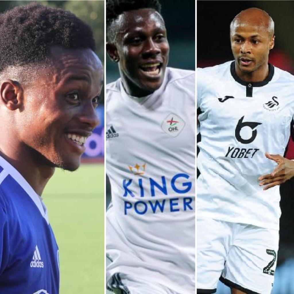 Performance of Ghanaian Players Abroad wrap-up: Toku, Sowah hit brace over the weekend as Ayew, Kyereh, Dwamena score for respective clubs