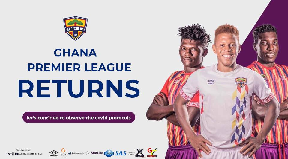 Ghanaian clubs react to return of Ghana Premier League