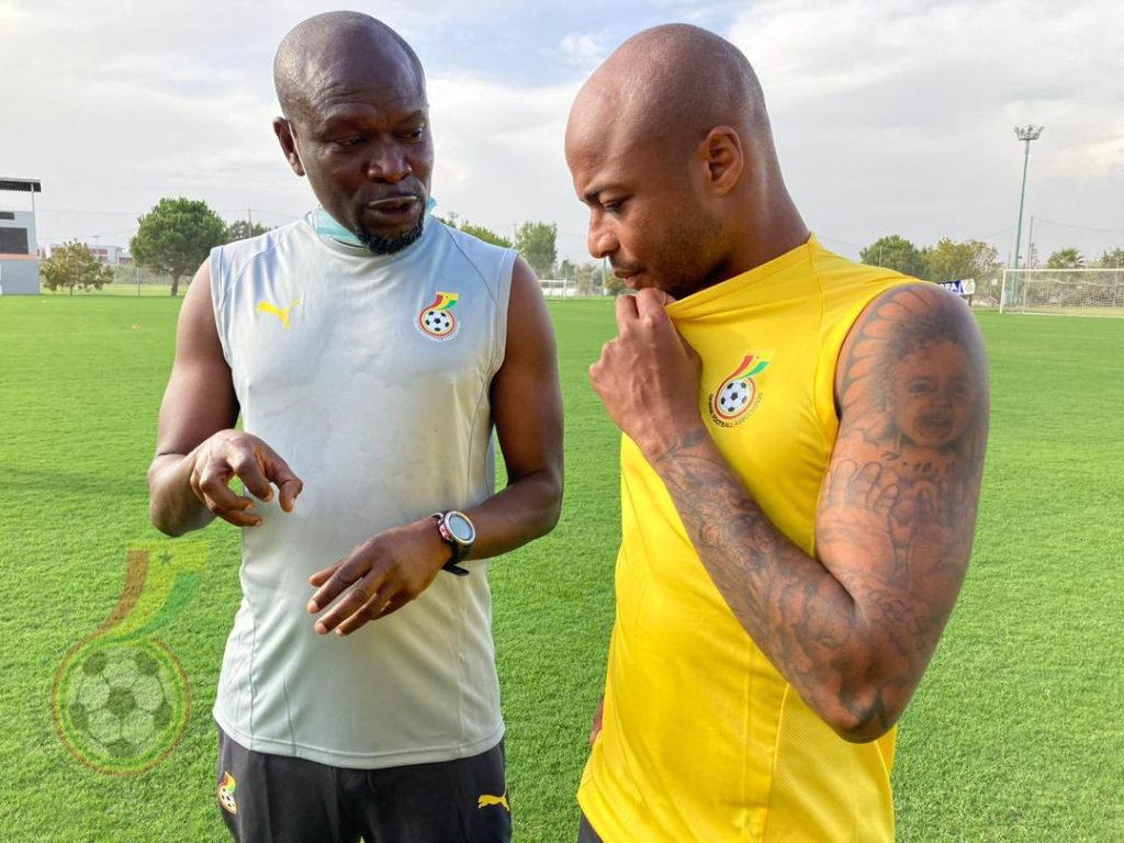CK Akonnor to decide his first Black Stars starting lineup after today's training