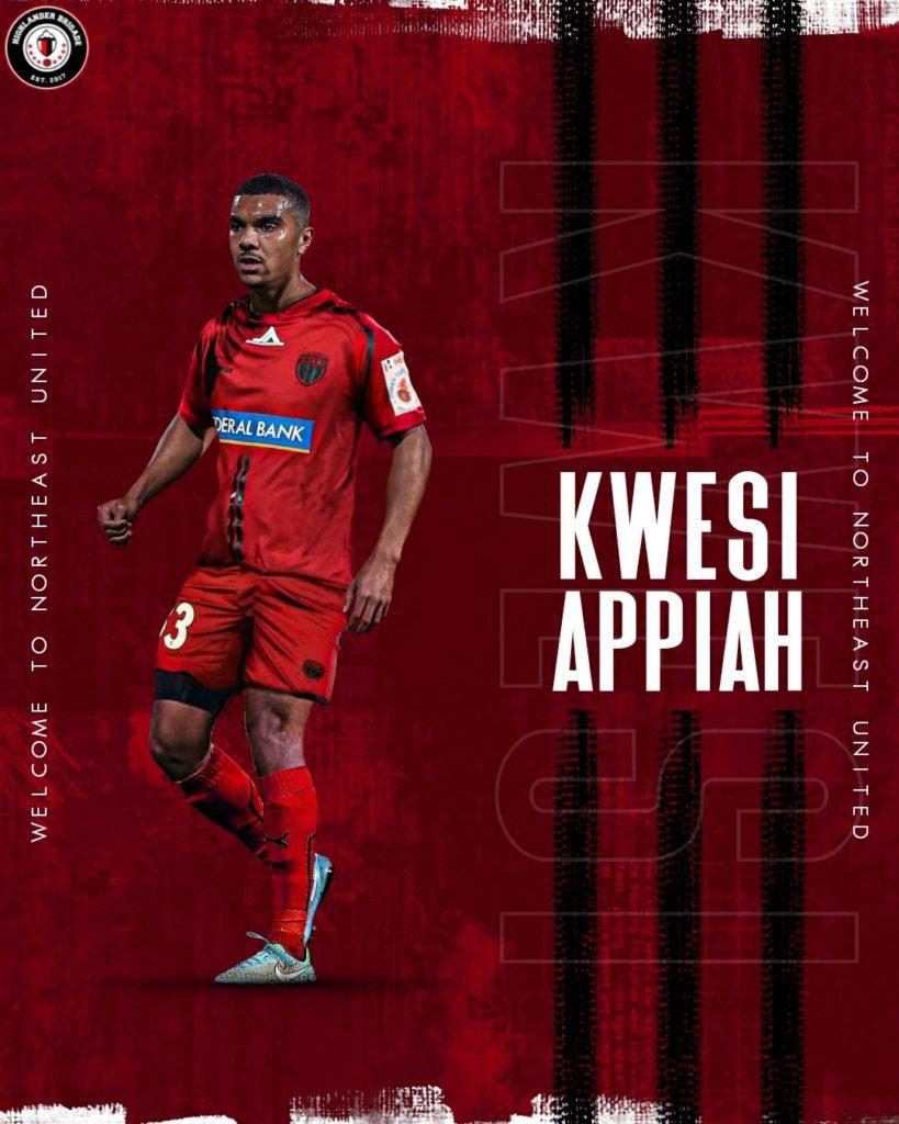 Former Black Stars striker Kwesi Appiah joins Indian side NorthEast United FC