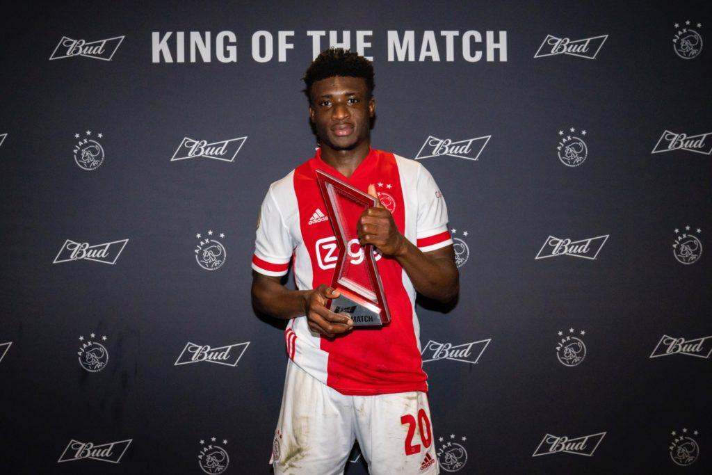 Mohammed Kudus makes De Telegraaf's Team of the Week after powering Ajax to victory