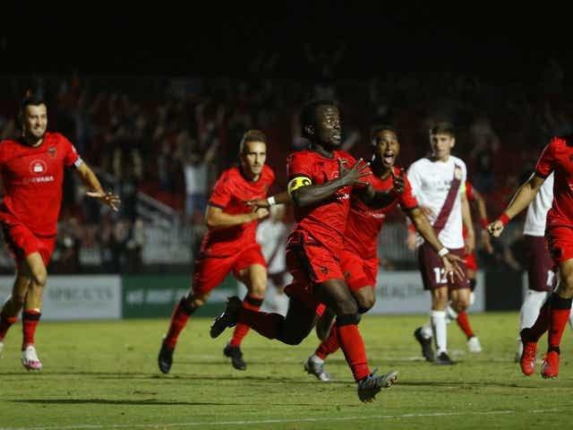 Solomon Asante strikes brace as Phoenix Rising defeat Oakland Roots SC