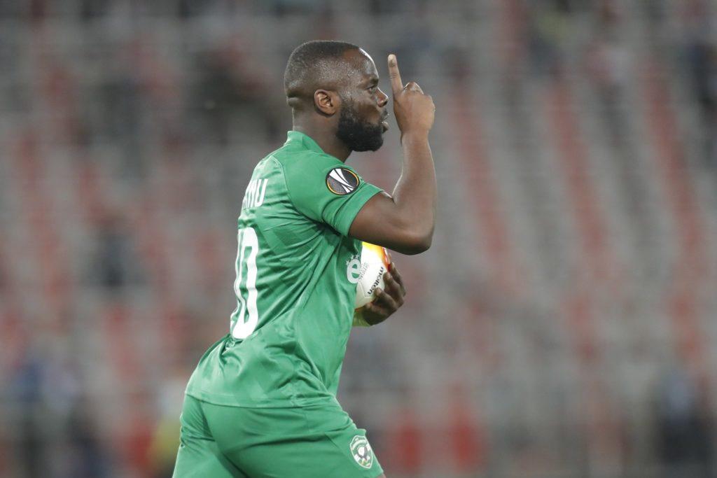 Ghanaian forward Elvis Manu the most effective striker for Ludogorets this season