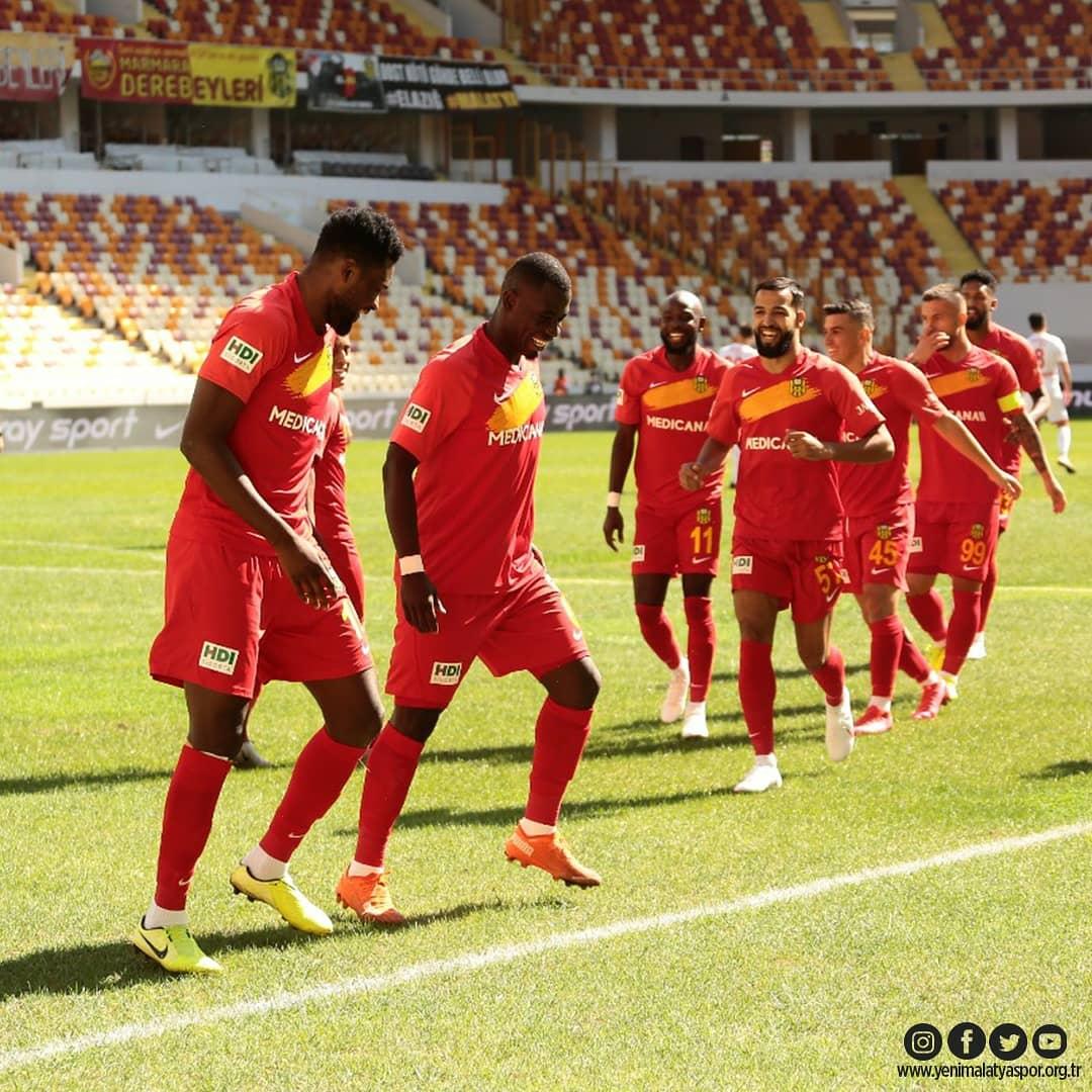 Benjamin Tetteh debut goal hands Yeni Malatyaspor season's first win