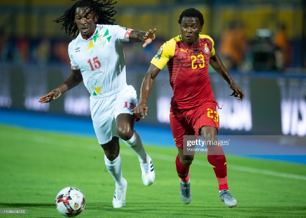 Belgian side Lommel SK announce signing of Ghanaian winger Thomas Agyepong on loan