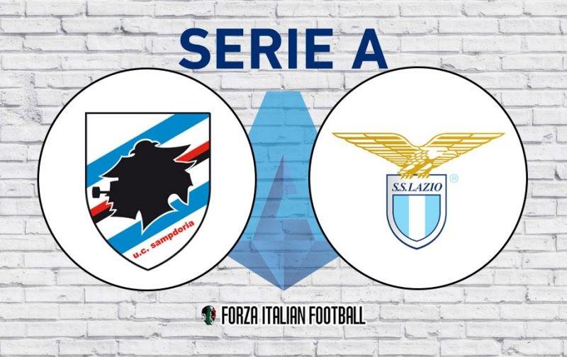 Serie A LIVE: Sampdoria v Lazio