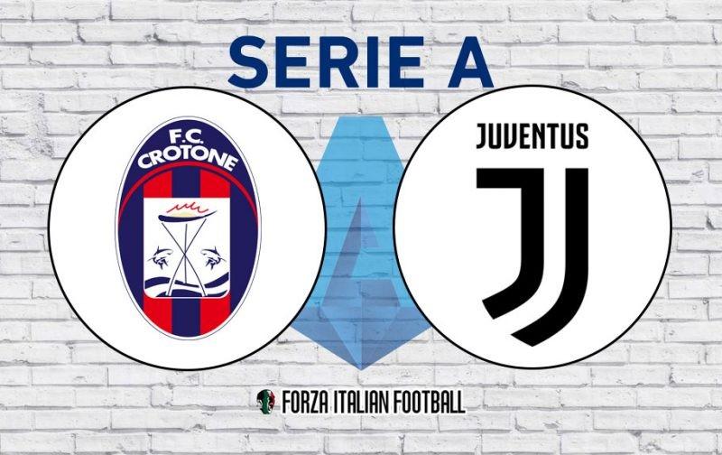 Crotone v Juventus: Official Line-Ups