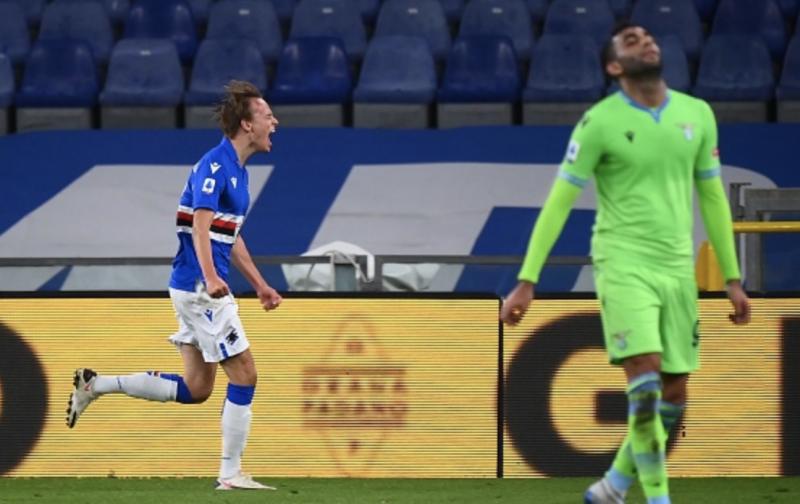 Silky Sampdoria see off Lazio in style