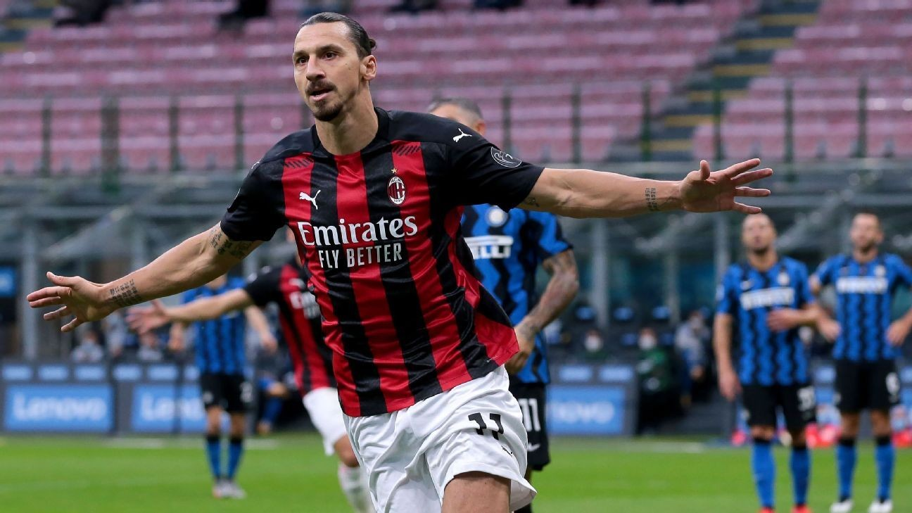 Ibrahimovic defies Father Time to set up Milan's derby victory