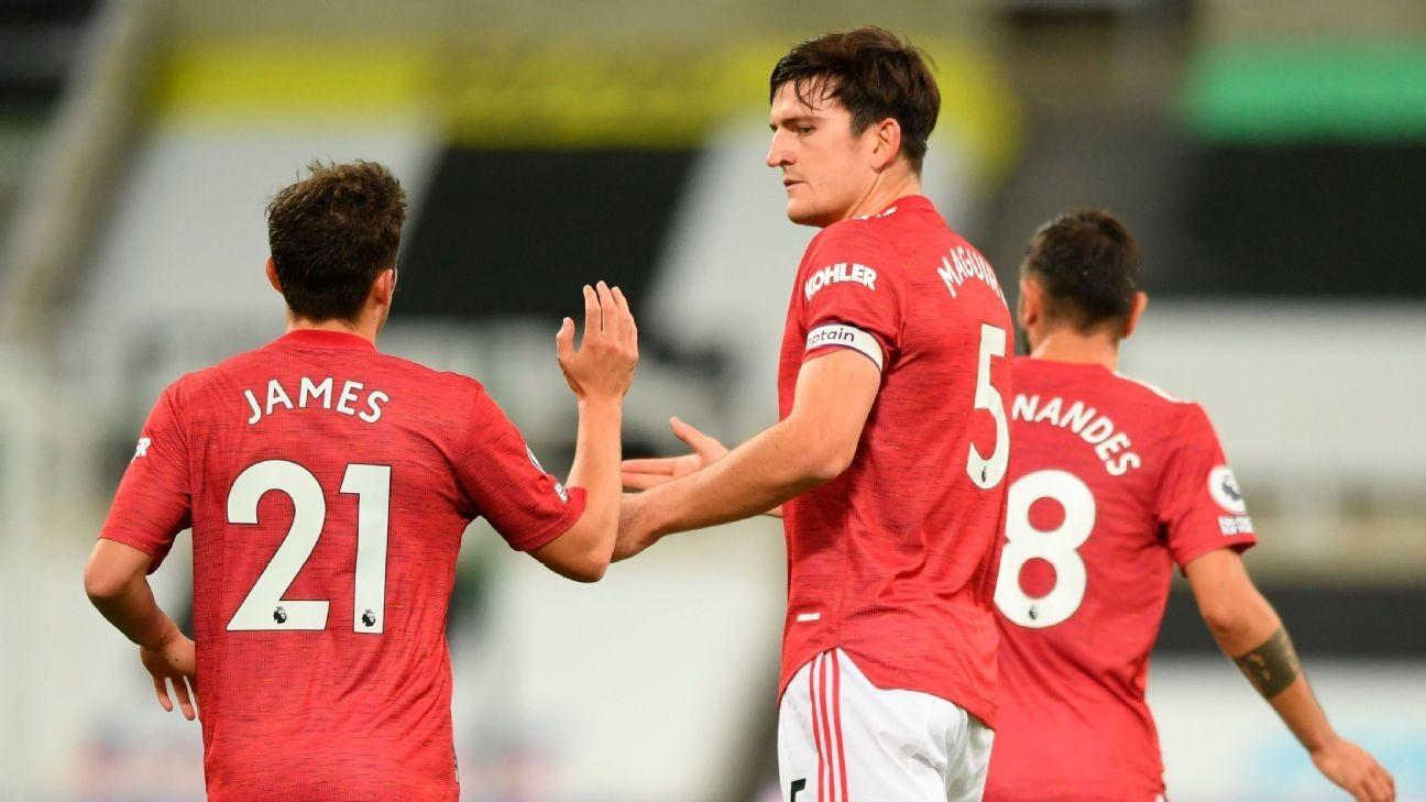 Man Utd's Maguire brushes off club crisis talk