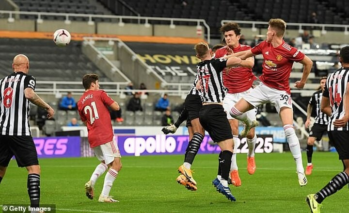 Harry Maguire shuns talk of a 'crisis' at Man United as Ole Gunnar Solskjaer's side beat Newcastle