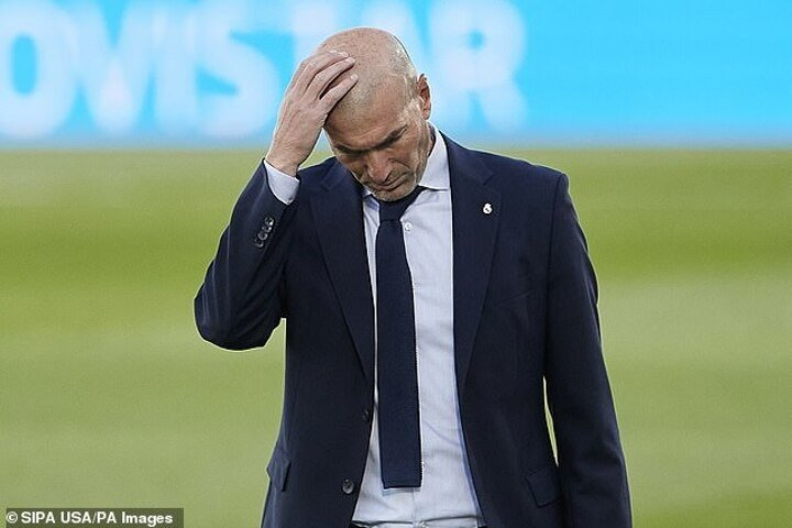 Zinedine Zidane offers no excuses for Real Madrid's defeat by Cadiz as he sweats over Ramos injury