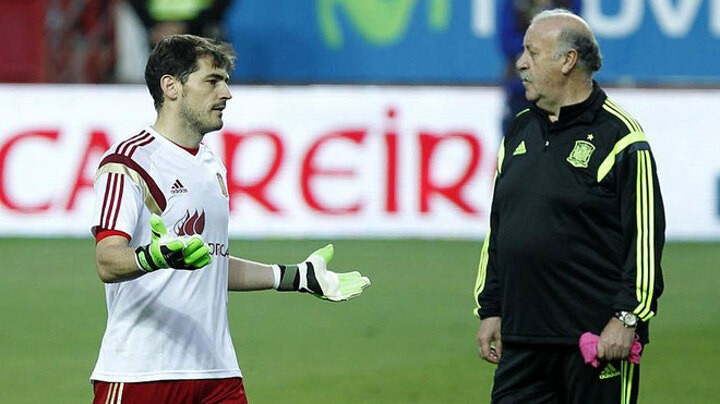 Casillas and Del Bosque reveal the politics within Spanish national team