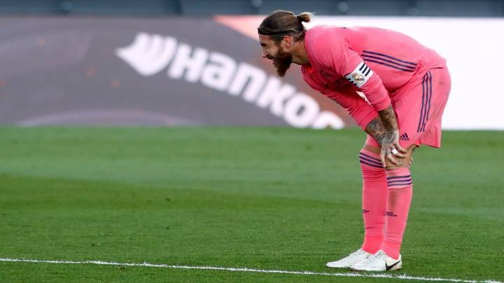 Sergio Ramos doubtful for Shakhtar game