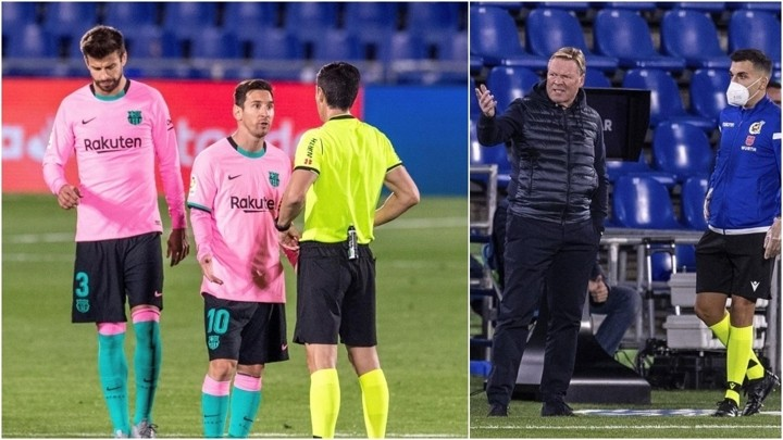 Barcelona's complaints against Getafe: What was it that frustrated Koeman?