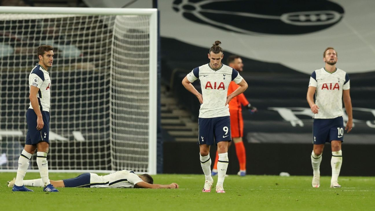 Tottenham's lack of ruthlessness is a problem