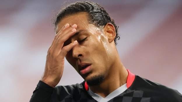 How much will Liverpool miss Van Dijk?