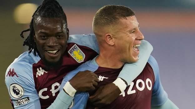Late Barkley winner sends Villa second