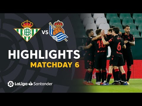 Highlights Real Betis vs Real Sociedad (0-3)