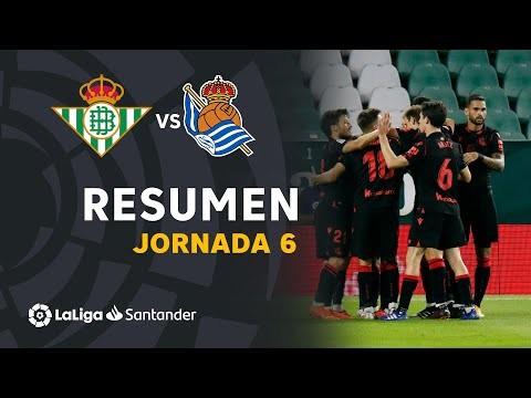 Resumen de Real Betis vs Real Sociedad (0-3)