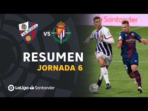 Resumen de SD Huesca vs Real Valladolid (2-2)