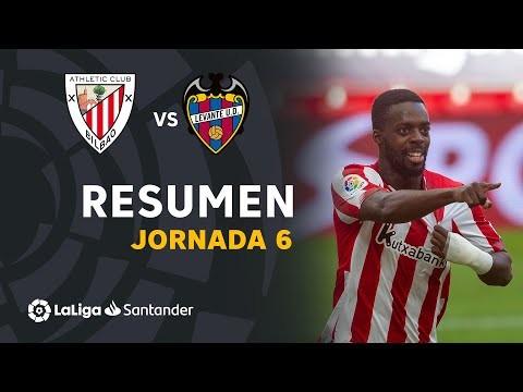 Resumen de Athletic Club vs Levante UD (2-0)