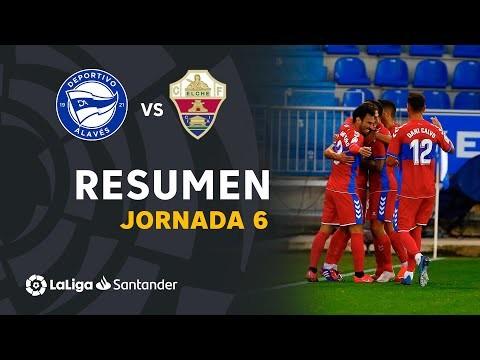 Resumen de Deportivo Alavés vs Elche CF (0-2)