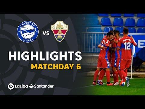 Highlights Deportivo Alavés vs Elche CF (0-2)