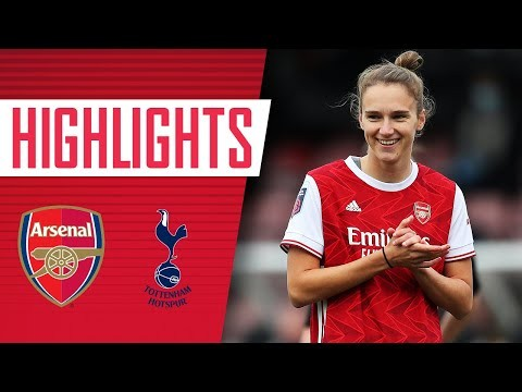 HIGHLIGHTS | Arsenal vs Tottenham (6-1) | Miedema breaks goalscoring record!