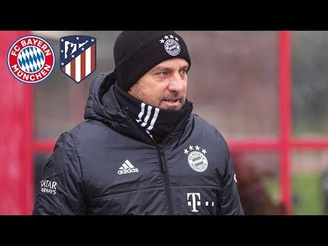 LIVE 🔴 Pressekonferenz mit Hansi Flick   FC Bayern - Atletico Madrid