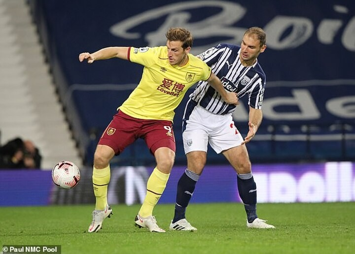 West Brom 0-0 Burnley: Clarets claim first point of Premier League season