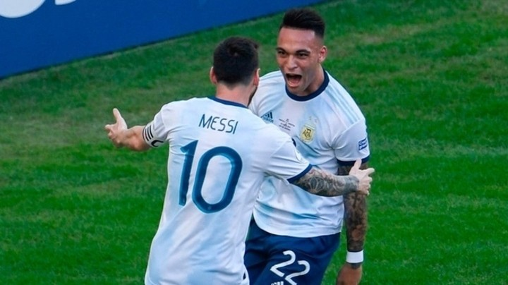 Lautaro Martinez reveals the characteristic which puts Lionel Messi above the rest