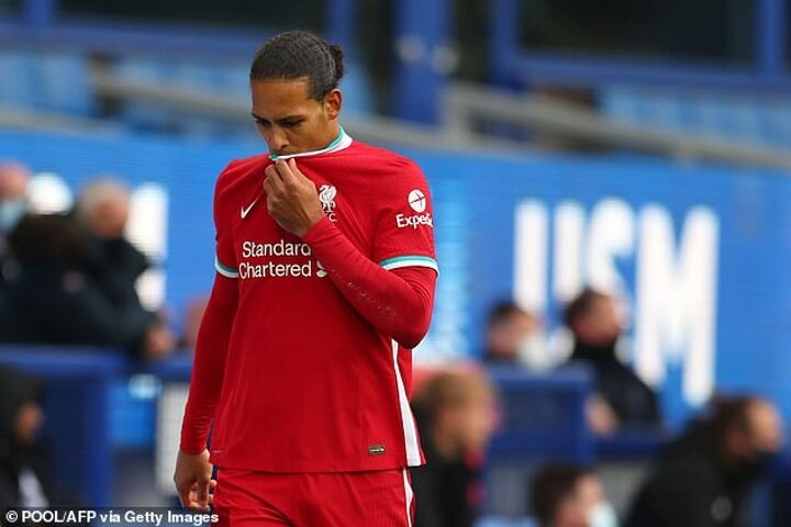 Liverpool WON'T retain Premier League title without injured Virgil van Dijk, insists Jamie Carragher