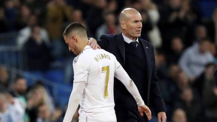 Zidane: Hazard's injury was more serious than first thought