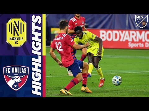 Nashville SC vs. FC Dallas | October 20, 2020 | MLS Highlights