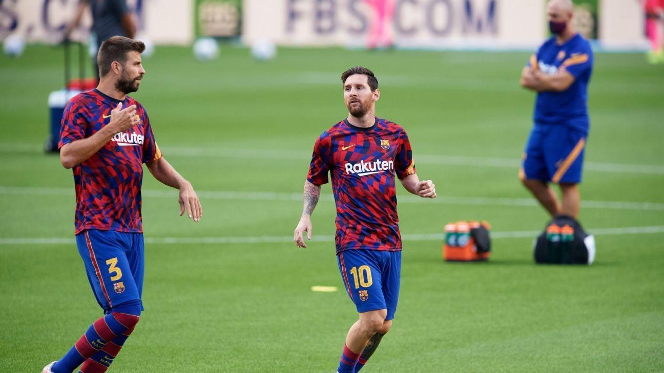 Pique: Camp Nou should be named after Messi