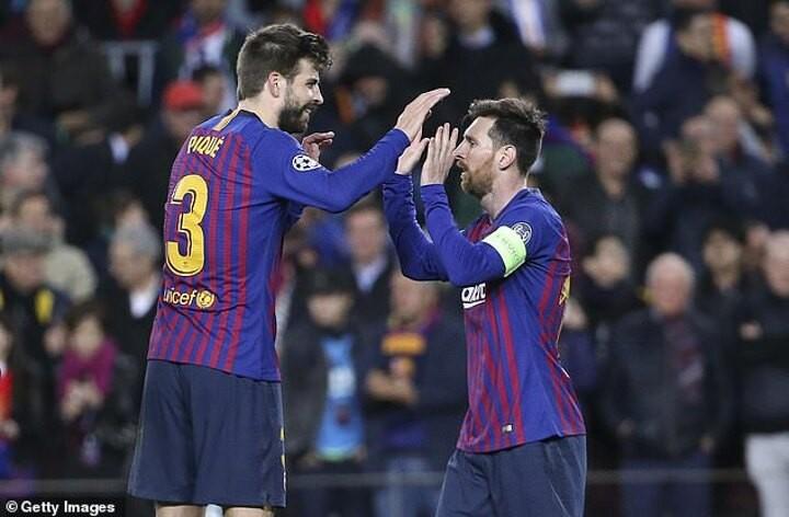 Gerard Pique slams Barcelona over Lionel Messi's burofax saga - and defends new 50 per cent pay-cut