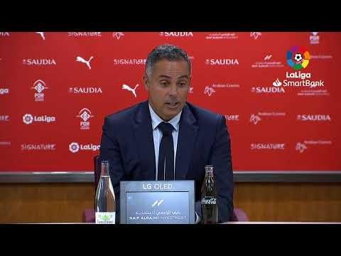 Rueda de prensa UD Almería vs CF Fuenlabrada