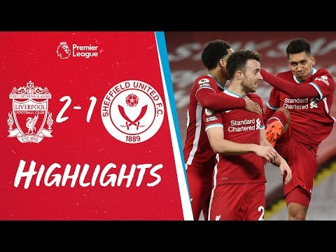 Highlights: Liverpool 2-1 Sheff Utd   Firmino and Jota seal comeback at Anfield