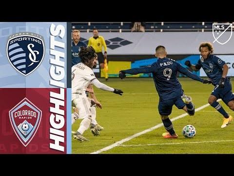 Sporting Kansas City vs Colorado Rapids | October 24, 2020 | MLS Highlights