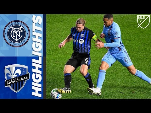 New York City FC vs. Montreal Impact | MLS Highlights | October 24, 2020