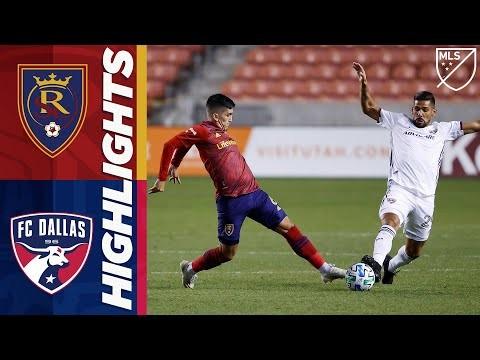 Real Salt Lake vs. FC Dallas | October 24, 2020 | MLS Highlights