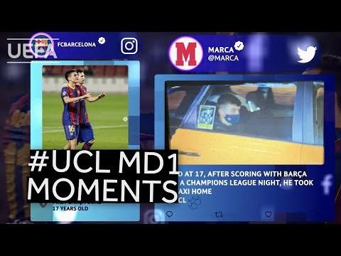 COMAN, RASHFORD, PEDRI: #UCL Matchday 1 Moments