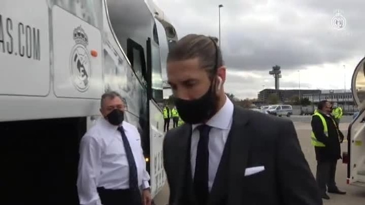 Real Madrid arrive in Germany ahead of Champions League encounter