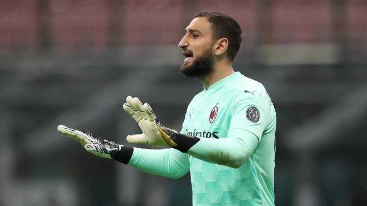 Donnarumma and four AC Milan team mates test positive for Covid-19